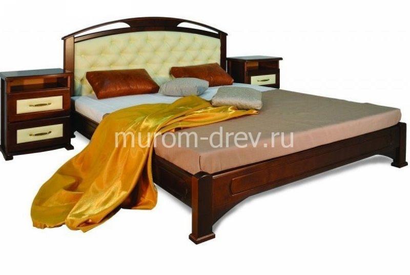 Кровать Омега 2 с вставкой
