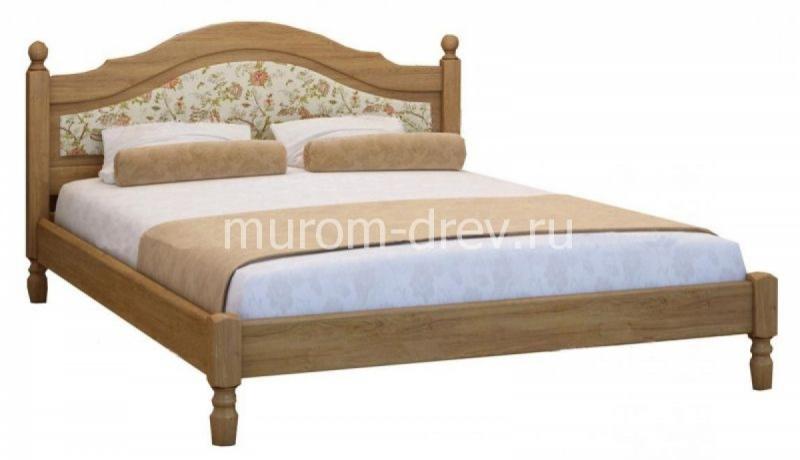 Кровать Филенка с мягкой вставкой