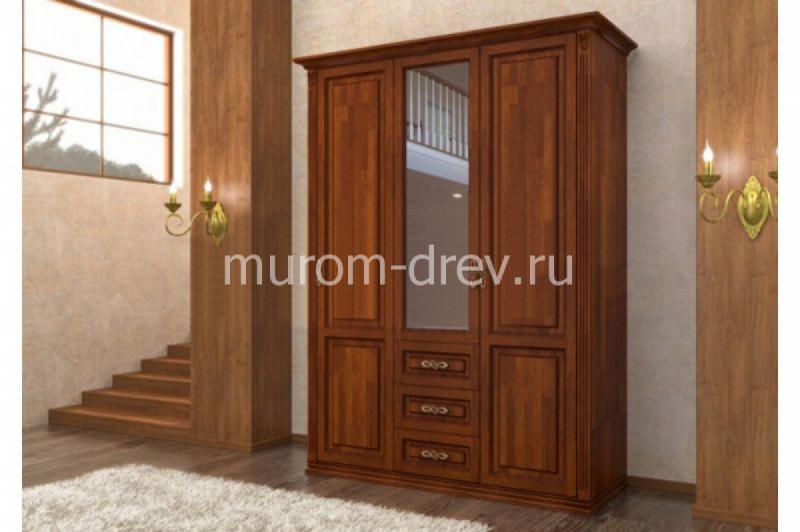 Шкаф из массива Лирона 122