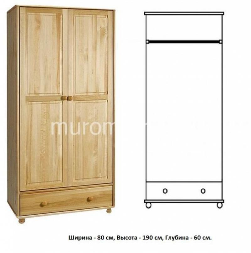 Шкаф для дачи Витязь 102