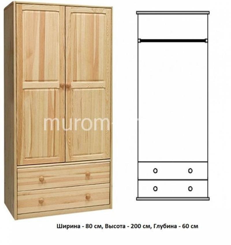 Шкаф для дачи Витязь 110