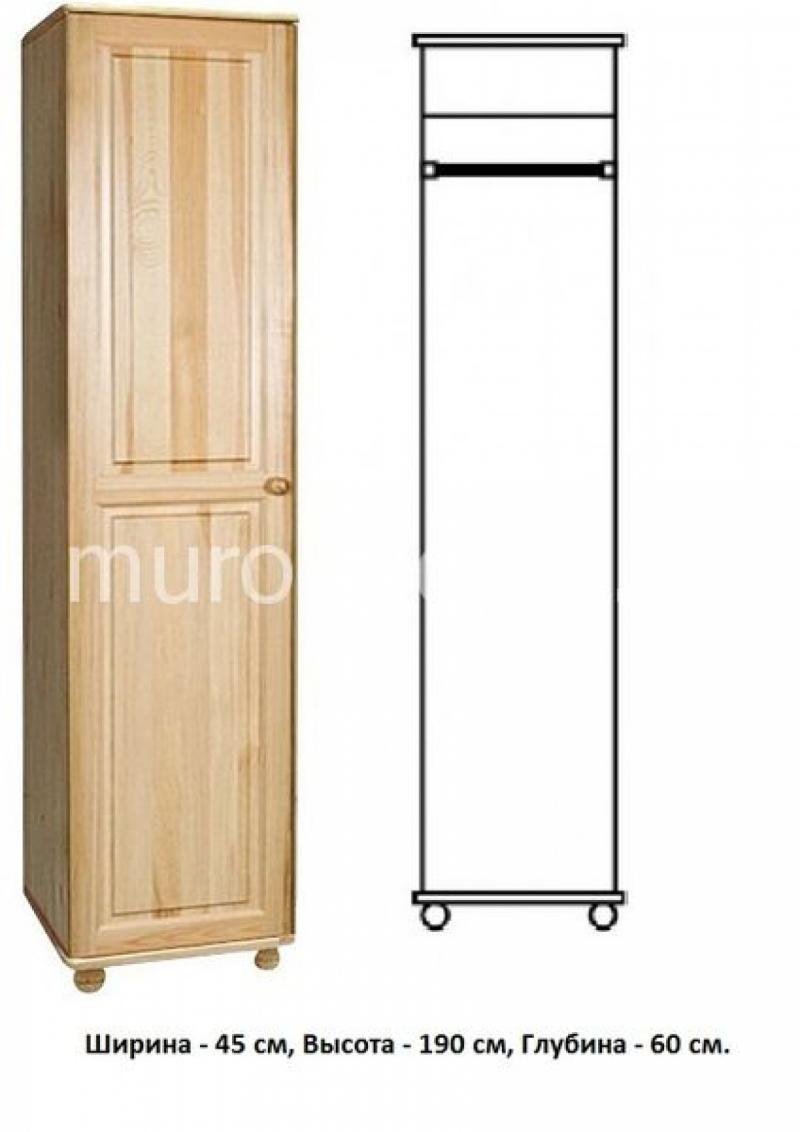 Шкаф для дачи Витязь 112