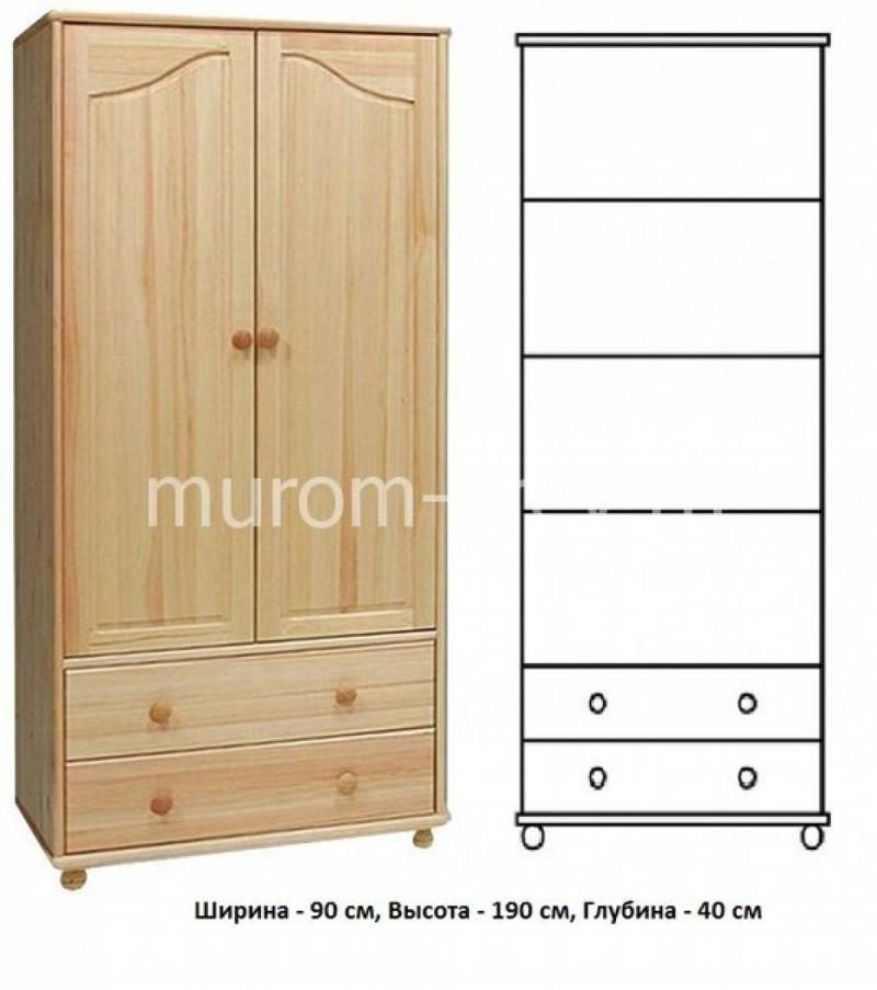 Шкаф для дачи Витязь 114
