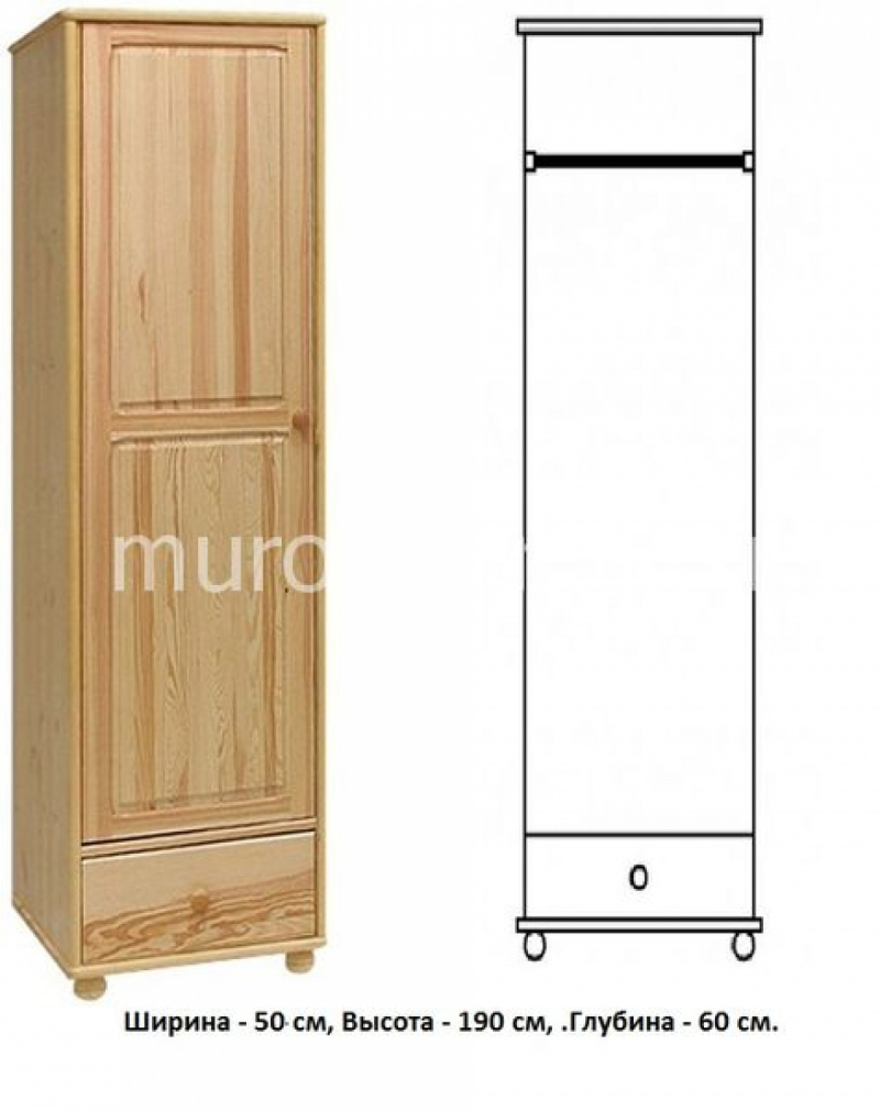 Шкаф для дачи Витязь 116