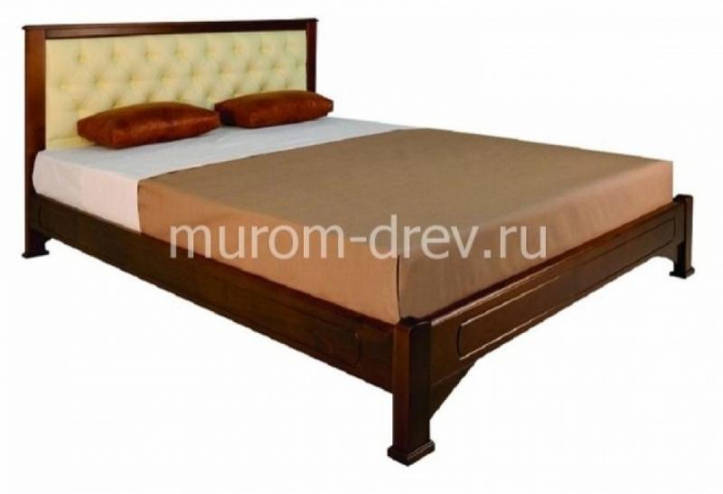 Кровать Омега прямая с вставкой